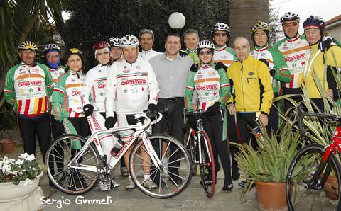 Team Capodivento all'Hotel Casella