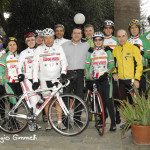 Team Capodivento all'Hotel Casella